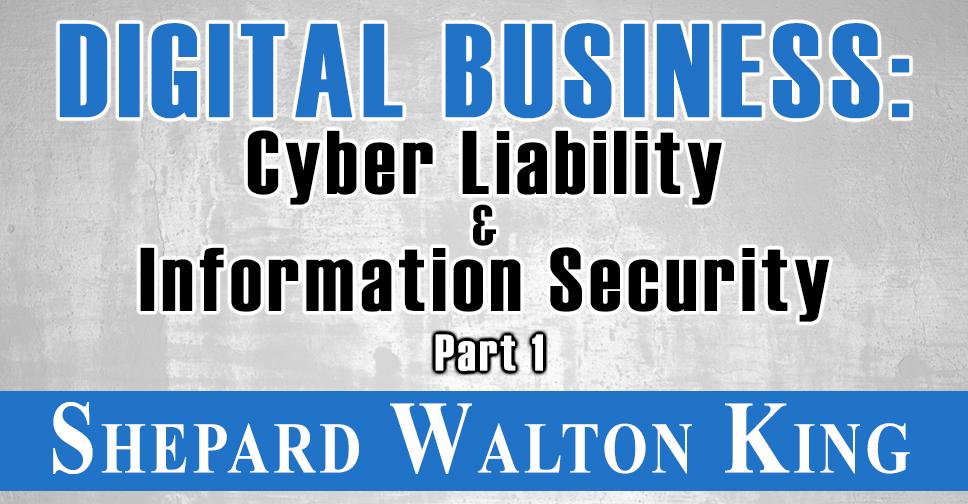 Cyber Liability and Information Security