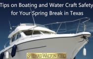 Boat Insurance Spring break