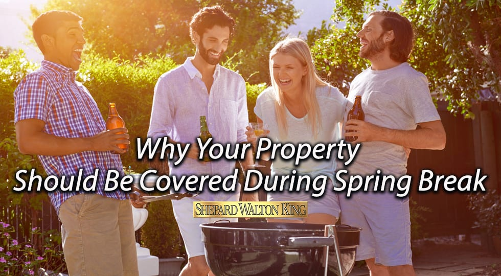 Home insurance spring break