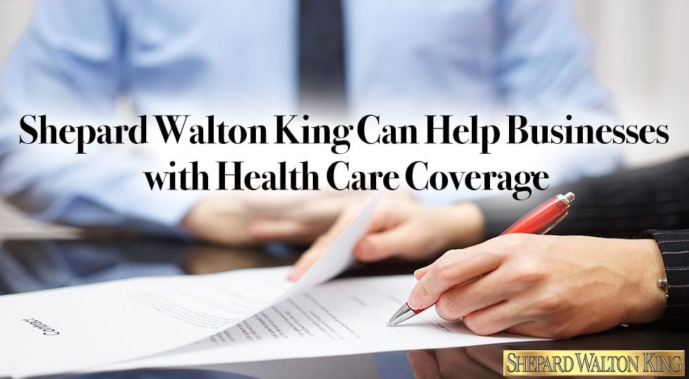 Business health care coverage