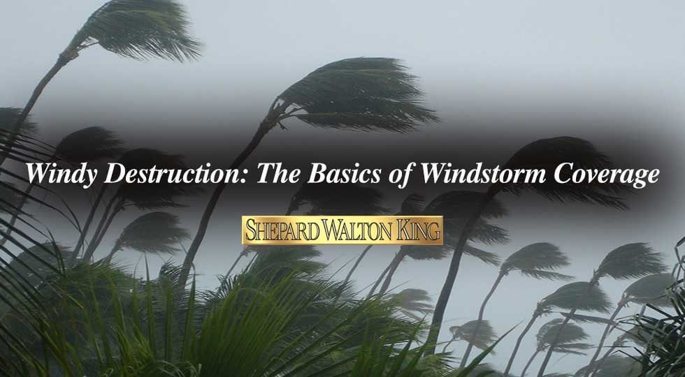 Windstorm coverage
