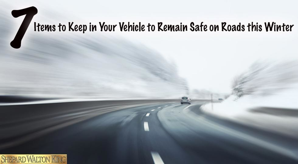 Keep Your Vehicle Safe on Winter Roads