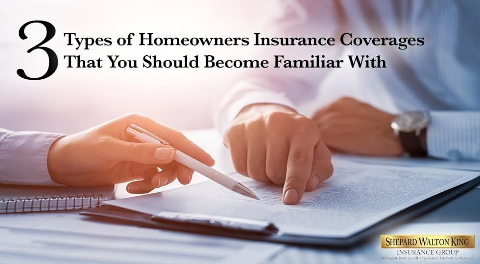 Types of Homeowners Insurance