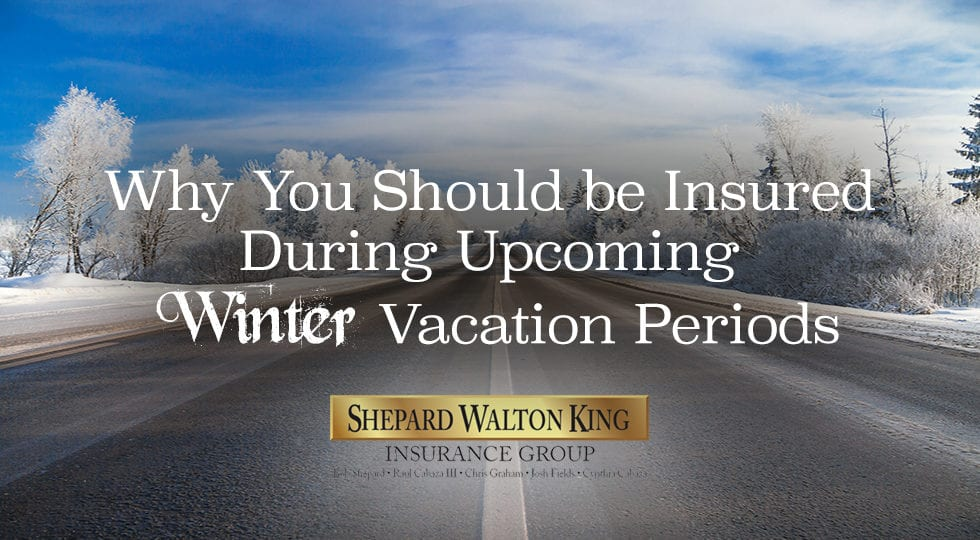 Winter vacation insurance