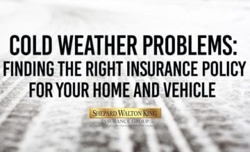 Home and Vehicle Insurance Cold Weather