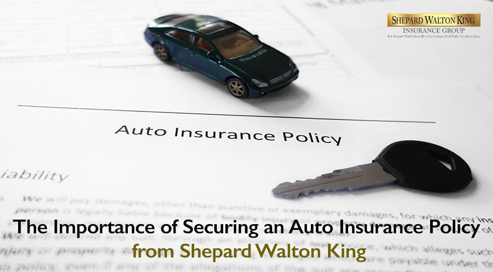 Securing Auto Insurance Policy in McAllen | Shepard Walton King